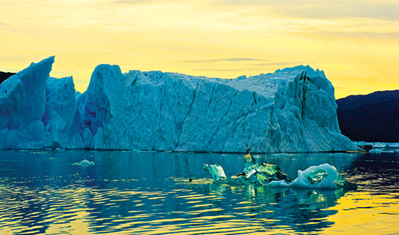 A photo that Mainetti shot in Greenland.