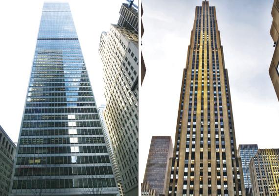 1 Chase Manhattan Plaza, 75 Rockefeller Plaza