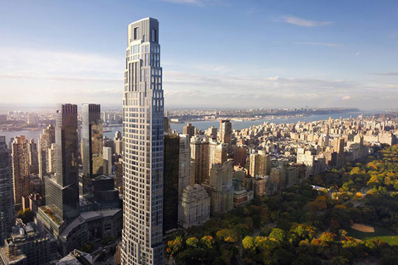 A rendering of 220 Central Park South (Credit: Robert A.M. Stern Architects)