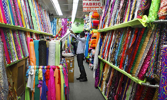 Fabrics in the Garment District