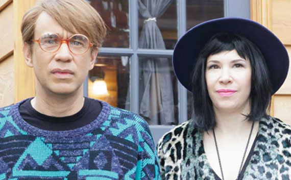 From left: Portlandia's Fred Armisen and Carrie Brownstein