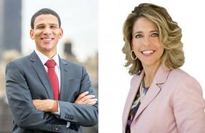 Compass CEO Robert Reffkin and Corcoran CEO Pam Liebman