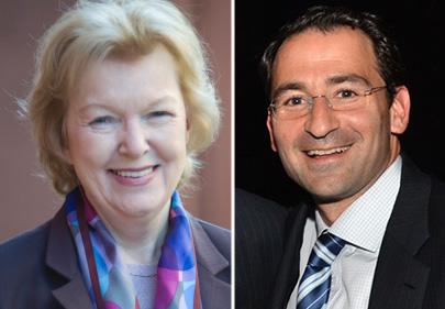 Rosemary Scanlon and John Gray