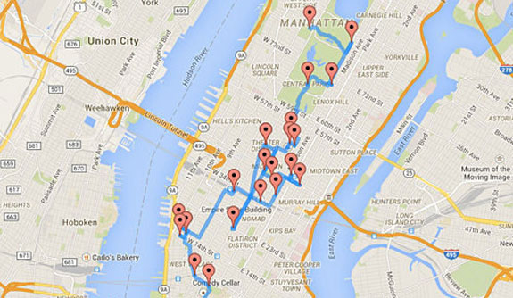 Optimal Walk Tour NYC | Best NYC Walking Tour