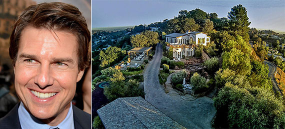 Tom Cruise Hollywood Hills House
