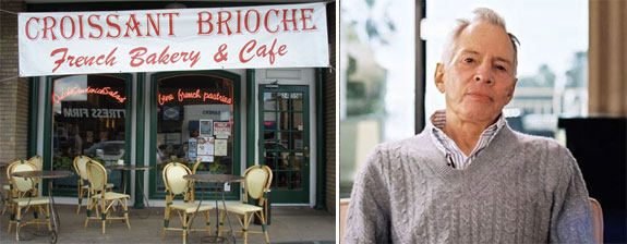 Croissant Brioche, the restaurant where Vanessa Leggett met  Robert Durst and Robert Durst