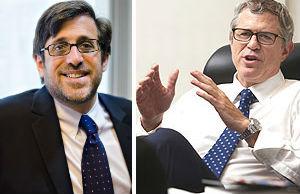 From left: Michael Cohen and Robert K. Futterman (Credit: Michael Toolan)