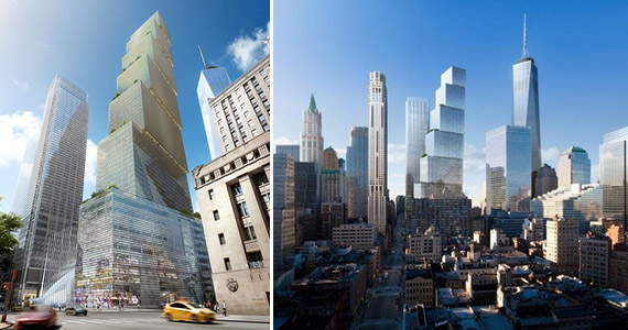 2 World Trade Center Bjarke Ingels Group Cb1 Manhattan