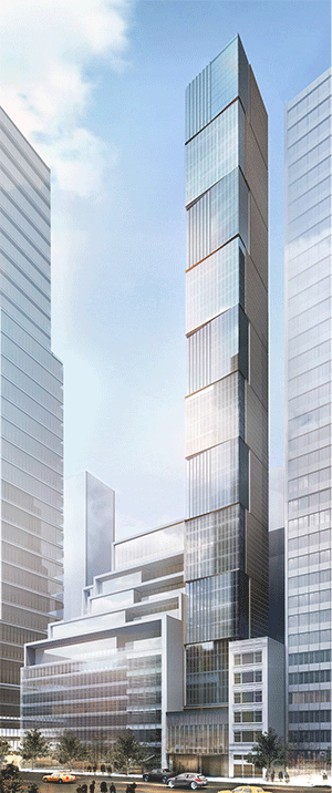 A Rendering Of 118 East 59th Street