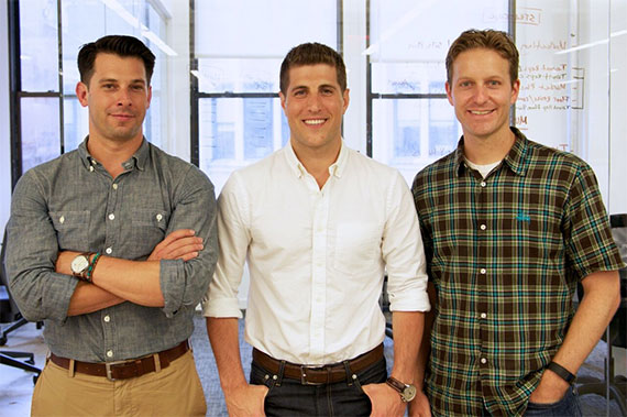 VTS co-founders Nick Romito, Ryan Masiello and Karl Baum