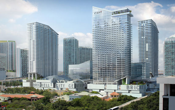 A rendering of Brickell City Cente