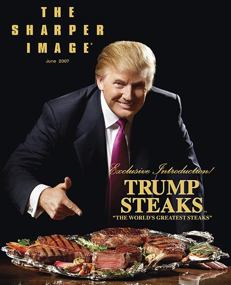 Trump steaks