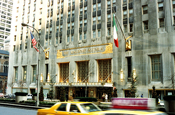 The Waldorf-Astoria Hotel