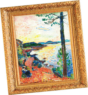 A Matisse painting that's part of Sheldon Solow's collection.
