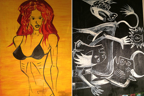Sean Ludwick Murals