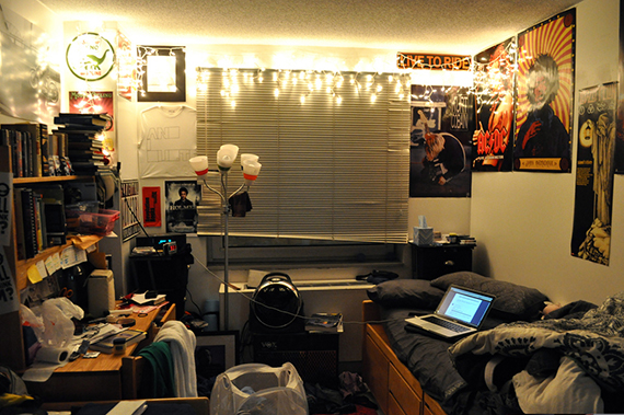 A typical NYU student's room (credit: Christian Rodriguez/Flickr)