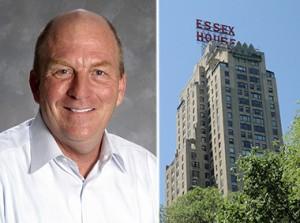 Rip Gellein and the JW Marriott Essex House in Midtown