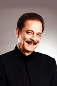 Subrata Roy, the CEO Sahara India Pariwar, which bought a stake in the Plaza Hotel in 2012