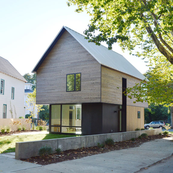 Architecture affordable housing yale for Low cost home construction