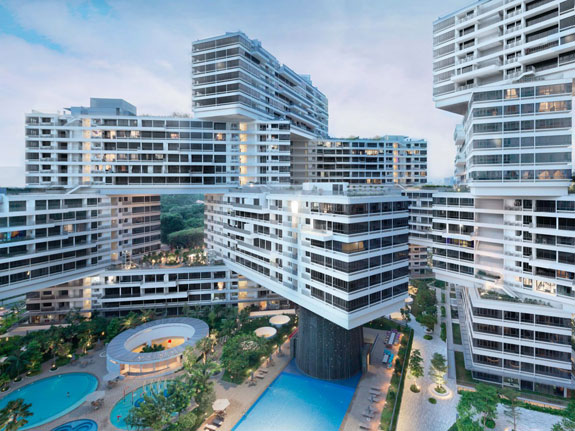 Real Architecture Buildings best-housing-the-interlace-in-singapore-by-omaburo-ole-scheeren