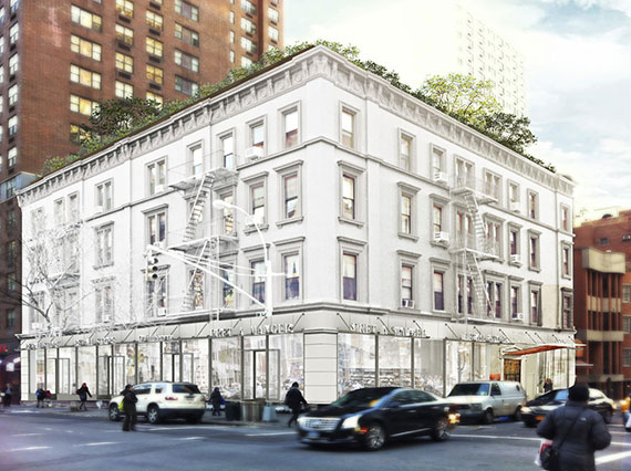 The Allen House on the Upper East Side, which is owned by developer Joe Sitt, is being leased by his brokerage Town Residential.