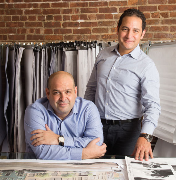 Boaz Gilad, left, and Assaf Fitoussi, the founders of Brookland Capital