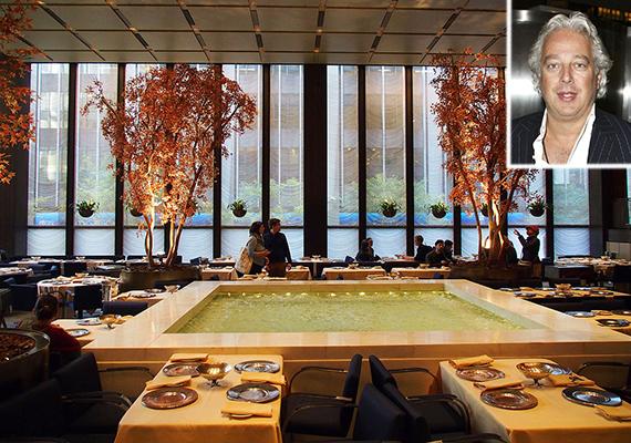 Four Seasons Restaurant 375 Park Avenue Aby Rosen