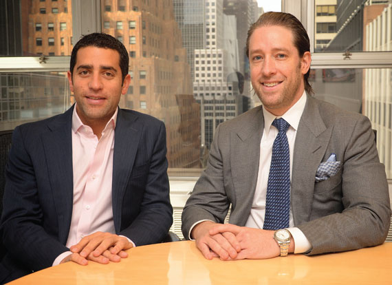 Slate's Martin Nussbaum, left, and David Schwartz have increased the size of their projects recently.