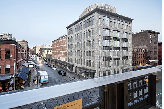 Rendering of 60-74 Gansevoort Street (credit: BKSK)