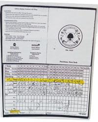 Golf-Card