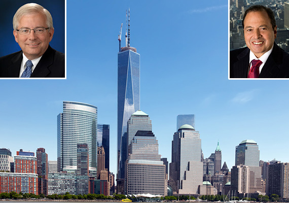 Mark Baker Douglas Durst One World Trade
