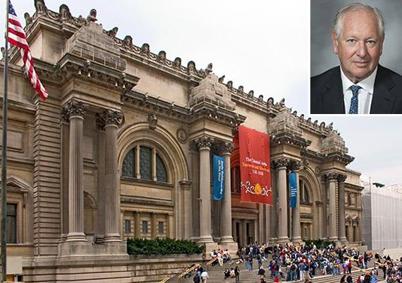 The Metropolitan Museum of Art on the Upper East Side (inset: Daniel Brodsky)