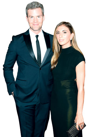 Ryan Serhant and Emilia Bechrakis