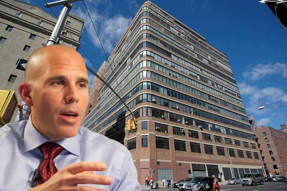 Scott Rechler and the Starrett Lehigh Building