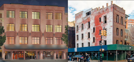 131-135 Alexander Avenue (left), and 99 Morningside Avenue, in the Bronx