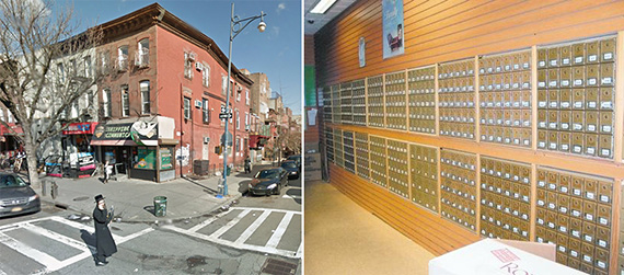 199 Lee Avenue in Williamsburg (credits: Google Street View and the Brooklyn Daily)
