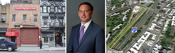 223 West 28th Street in Chelsea, Eran Polack of HAP Investments and 2880 Exterior Street in the Bronx
