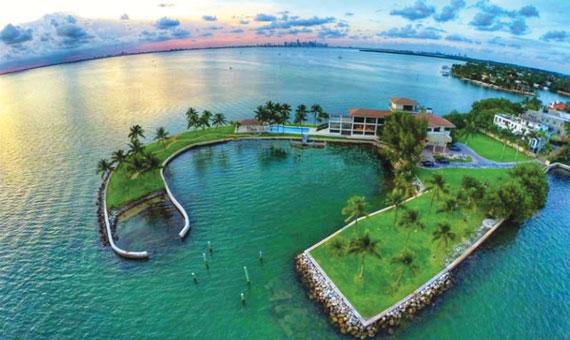An estate in Key Biscayne sold for $47 million