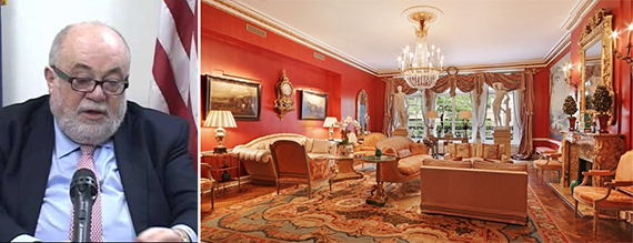 David Rozenholc and 7 East 84th Street (Credit: Corcoran Group)