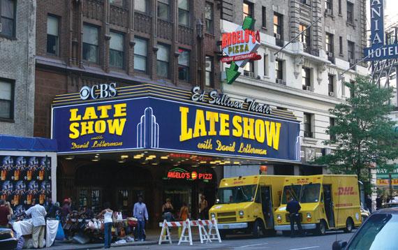 The Ed Sullivan Theater in 2007