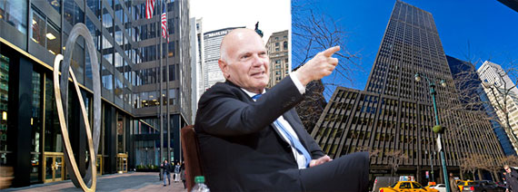 Vornado CEO Steven Roth and 90 Park Avenue