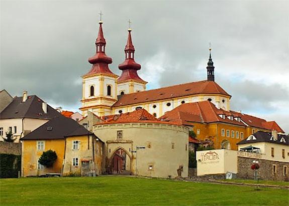 A Czech castle