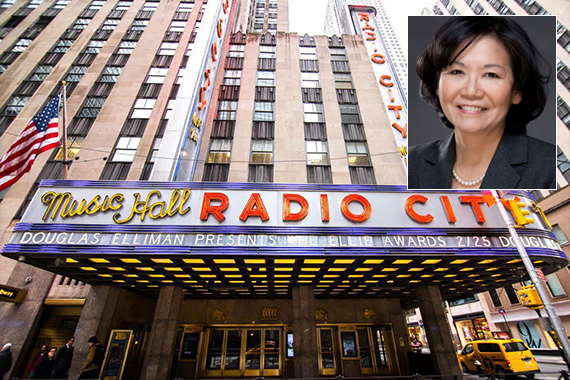 Setsuko Hattori and Radio City Music Hall