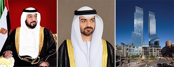 Sheikh Khalifa bin Zayed Al Nahyan, ruler of Abu Dhabi,