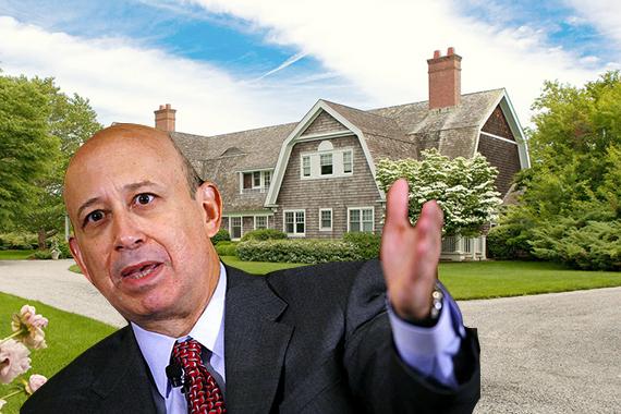 Lloyd Blankfein and his Sagaponack home