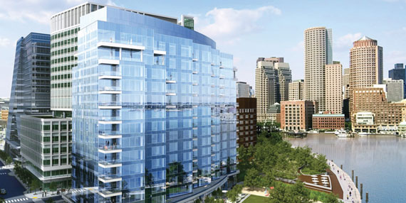 Fallon Co.'s luxury condo project, 22 Liberty, has sold 102 units at a median price of $2.8 million.