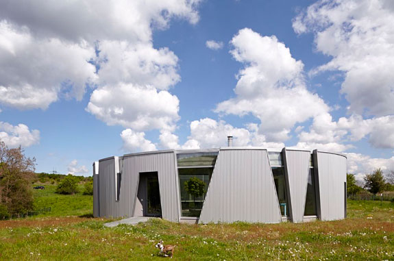 A sustainable house in the Czech Republic