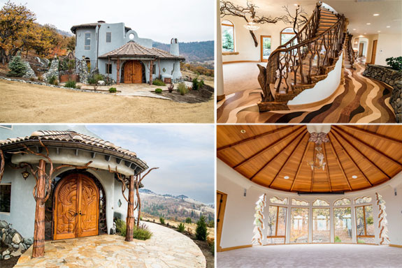 Whimsical Homes Fantasy Homes 2700 North Valley View Road