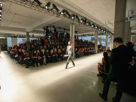 A Kenneth Cole show at Skylight Modern in 2013.