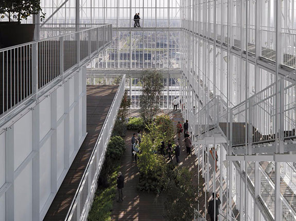 Architects: Renzo Piano Building Workshop (credit: Enrico Cano)